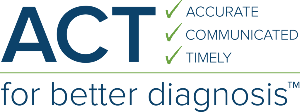 ACT for Better Diagnosis Logo