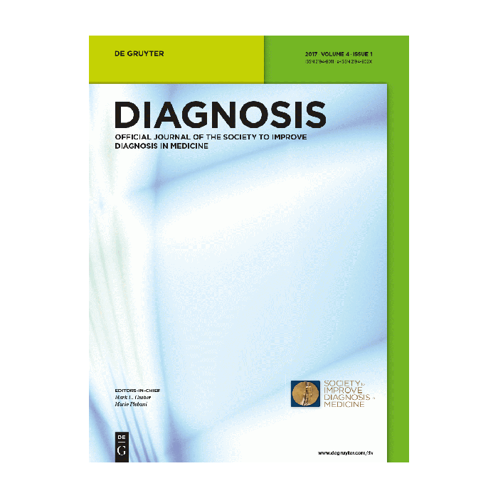 Diagnosis journal cover