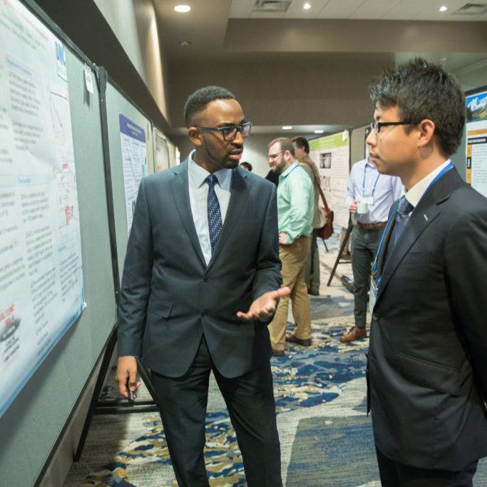 Poster presentations at DEM conference